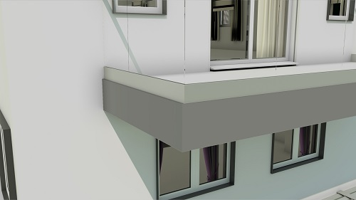 Balcony Cladding