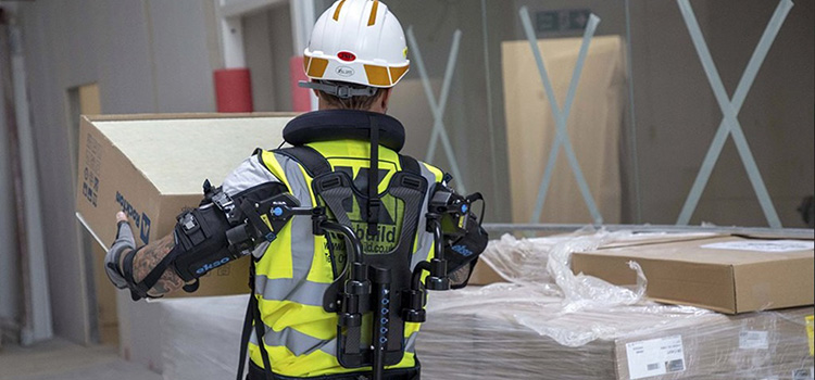 New robotic exoskeleton vest trialled on-site